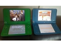 Two Nintendo Dsi XL