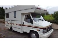 1994 Citroen C25 Challenger 2 Berth Campervan Motorhome Low Miles Excellent Condition