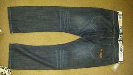 Mens Denim jeans Ze Enzo