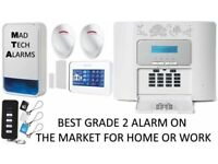 HOME, OFFICE, WORK BURGLAR ALARM SYSTEM WITH PHONE DIALLER ADT HONEYWELL VISONIC TEXECOM YALE TYCO