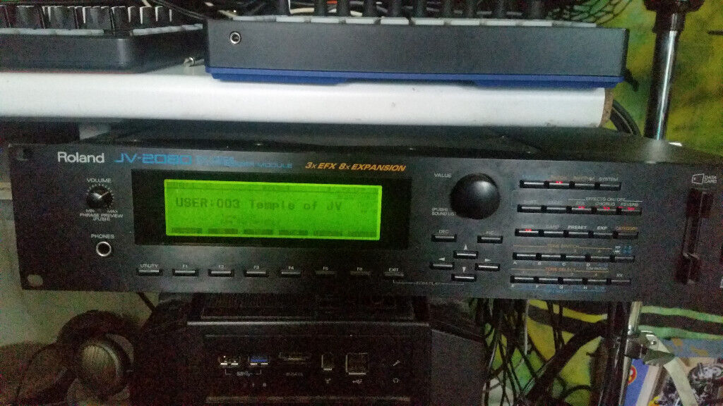 ROLAND JV-2080 - Synthesizer Sound Module | in Surrey Quays, London |  Gumtree