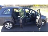 2007 Vauxhall Zafira 7 seater 1.6 manual 5 doors Estate good size family or travel