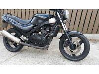1999 Kawasaki ex 500-D6 MOT to 21 JULY 19