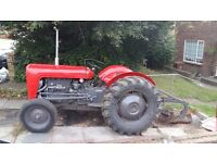 tractor & plough for sale