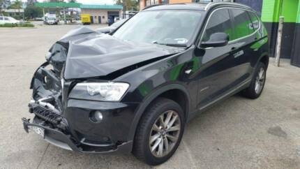 2012 BMW X3, Black  DAMAGED VEHICLE SELLING COMPLETE Wollongong Wollongong Area Preview