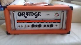 Orange th30 amp head and FREE Fender Speaker Cable.