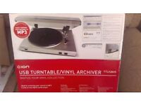 REDUCED - ION usb turntable/vinyl archiver