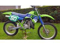 Kawasaki KX 250 evo 1989