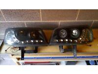 VW TRANSPORTER HEAD LIGHTS,£80.00ono