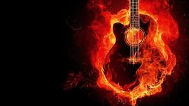 Electric and acoustic guitarist available