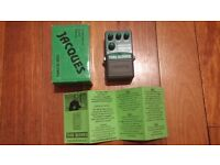 REDUCED Jacques Tube Blower - Overdrive Distortion pedal effect for guitar or bass