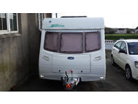 Lunar Zenith Four Touring Caravan - Priced to sell - 2004