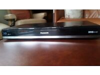 Panasonic Blu-ray Disc Player/TV recorder Model DMR-BWT720. Includes built in Freeview.