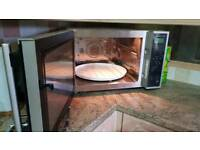 Attractive Silver Sharp Combination Microwave Oven