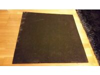 Anti-vibration rubber mat for washing machines/tumble driers