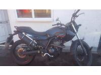 125cc Derbi Mulhacen Motorbike