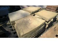 curved garden pathing slabs