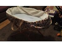 Moses basket used condition