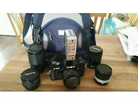 Minolta X300 SLR Vintage Camera