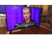 BLAUPAUNKT 50 INCH LED FULL HD TV with built-in Freeview, in excellent condition