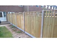 FENCING Close board fence panel 6ft x 5ft set for only £109