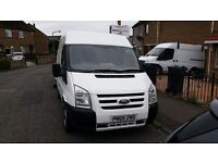 2005 Ford Transit S.W.B Medium roof with front end conversion.