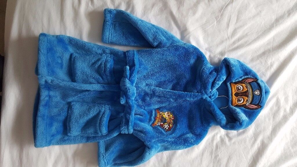 Brand new Paw Patrol Dressing Gown age 3 - 4