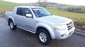 06 56 ford ranger thunder 2.5 tdci double cab no vat