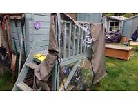 Guinea pig hutch weatherproof cover