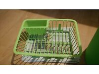Apple Green Dish Rack