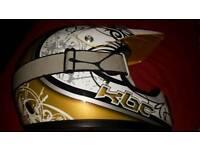KBC Motocross Helmet