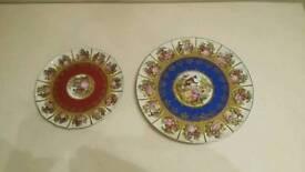 vintage JK Bavarian plates