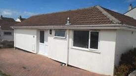 Detached two bedroom bungalow With garage and enclosed garden