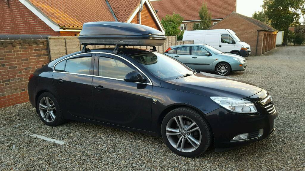 Insignia Roof Bar And 420l Roof Box In Norwich Norfolk