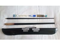 Riley Snooker Cue, Cue Case and Re-tipping Set