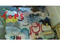 Large bundle of 0-3 boy's clothes