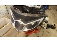 Triumph Sprint ST 1050 Headlight ( 2005 Caspian Blue )