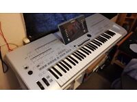 Yamaha Tyros 3 with expansion memory