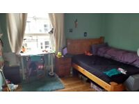 Double room available in lovely top floor Bruntsfield flat short term (all bills included)