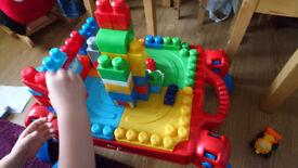 Mega blocks kids table