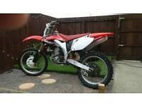 Crf 450 swaps for 250 2 stroke bike ktm kx cr rm yz