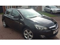 Vauxhall Astra 1.4 sri NEW SHAPE IN SAPPHIRE BLACK - Only 82000 miles, MOT UNTIL AUGUST 2019