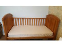 Westbury Oak Cotbed For Sale