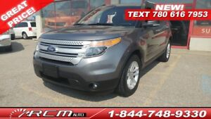 2013 Ford Explorer XLT 4x4 7 SEATER SUV BLUETOOTH TOUCHSCREEN