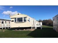 Devon cliffs private caravan hire from £100
