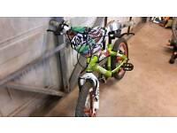 Boy's bike for sale - Hot Wheels design