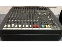 Soundcraft spirit PowerStation 600w amp mixer In good working order with instruction manual.