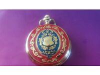 Gold Coloured Pocket Watch, dress watch, waistcoat pocket watch, fob watch, trendy watch