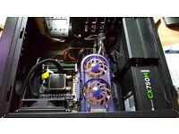 8 core cpu, GTX 970gpu, 24gb ram, 240gb ssd boot, 1tb storage, 60gb ssd spare Gaming PC