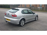 SEAT LEON 1.8 20V TURBO CUPRA 03 REG DECATTED REMAPPED AND MUCH MORE LONG MOT PSH PX WELCOME